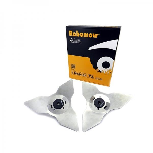 Robomow MRK6101A Ensemble de lames Série RS pour tondeuse